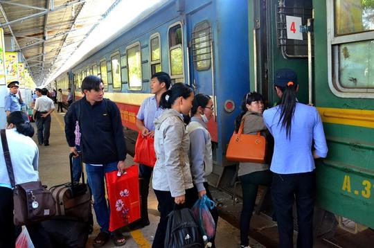Năng lực vận chuyển của ngành đường sắt sụt giảm do hạn chế đầu tư, cạnh tranh kém. Ảnh: Tấn Thạnh