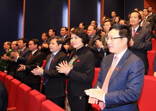 Các đại biểu tại Lễ khai mạc Đại hội XII