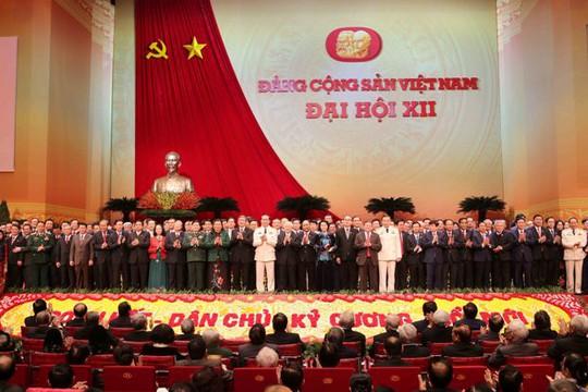 Ban chấp hành Trung ương khóa XII chính thức ra mắt Đại hội XII sáng 28-1