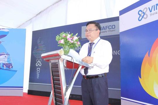 Tổng Giám đốc Công ty Cổ phần Vinafco phát biểu trong chương trình
