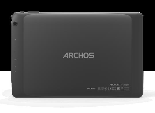 Archos 133 Oxygen nặng 1,1kg, sử dụng cổng kết nối microUSB, hỗ trợ Bluetooth 4.0, Wi-Fi a/b/g/n...