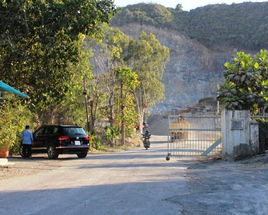 Mỏ đá xảy ra vụ tai nạn