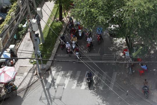 Văn hóa giao thông ở nước ta còn kém Ảnh: Hoàng Triều