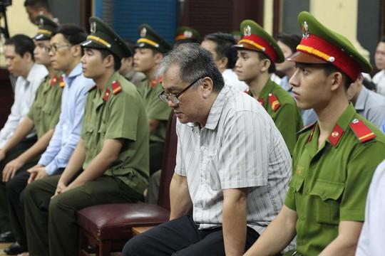 Bị cáo Phạm Công Danh tại tòa ngày 9-9 Ảnh: HOÀNG TRIỀU
