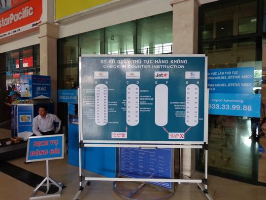 """Sân bay Tân Sơn Nhất """"thoát nạn"""" ùn tắc ngày Tết"""