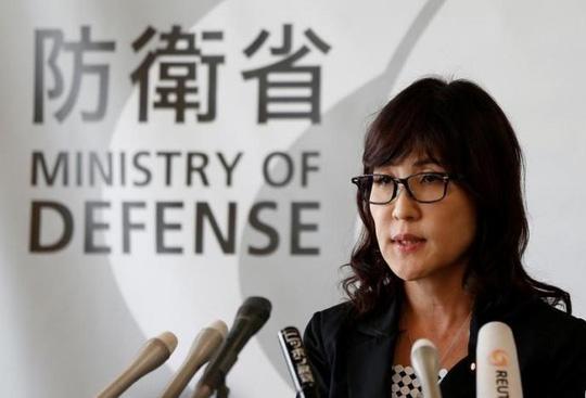 Bộ trưởng Quốc phòng Nhật Bản Tomomi Inada. Ảnh: Reuters