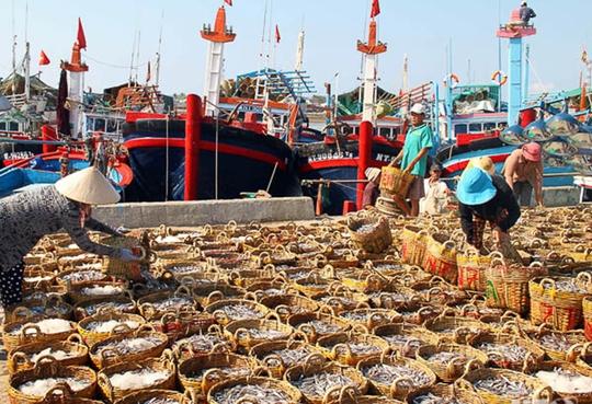 Cảng Cà Ná (Ninh Thuận). Ảnh: Lê Trường