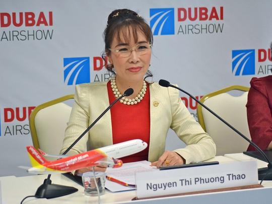 Bà Nguyễn Thị Phương Thảo, CEO của hãng hàng không tư nhân Vietjet