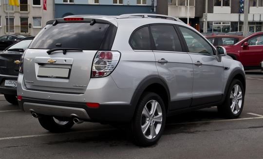 Chevrolet Captiva là một trong những mẫu xe ô tô cũ được nhiều người ưa chuộng