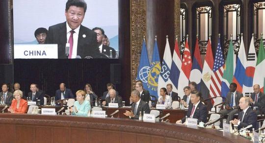 Hội nghị Thượng đỉnh G20 khép lại hôm 5-9 với cam kết ủng hộ thương mại tự doẢnh: KYODO