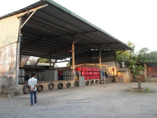 Trạm chiết gas Hiệp Hương đã tạm ngưng hoạt động