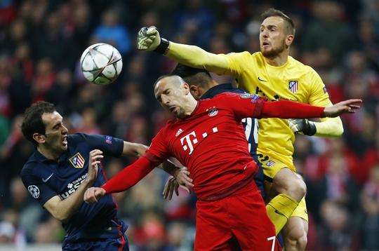 Ở tuổi 23, Oblak nổi lên như là thủ môn trẻ xuất sắc nhất châu Âu Ảnh: REUTERS