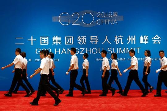 Trung Quốc đang hy vọng Hội nghị Thượng đỉnh G20 giúp họ củng cố vị thế cường quốc toàn cầuẢnh: EPA