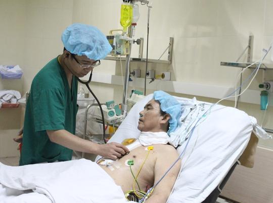 Sức khỏe bệnh nhân ổn định sau 10 ngày ghép tim