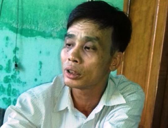 Chủ tịch UBND xã Cầu Lộc - ông Đỗ Văn Tám