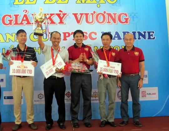 Minh Nhất xuất sắc giành cúp vô địch