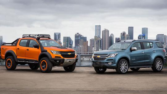 Chevrolet Trailblazer - thêm mỘt SUV 7 chỗ về Việt Nam