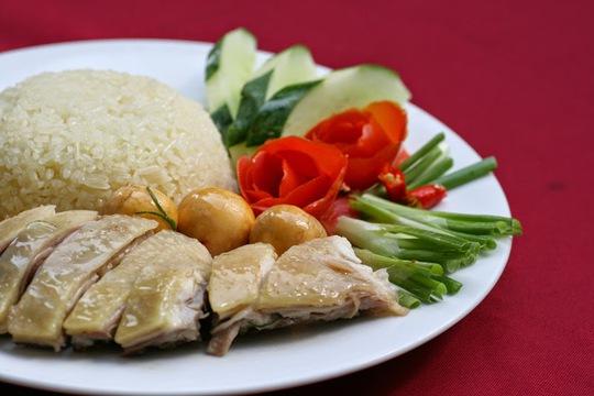 Cơm gà Thượng Hải tại... Sài Gòn