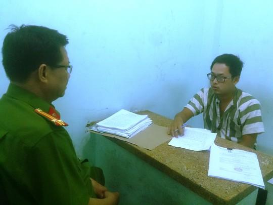 Nghi can Trần Bình Lâm khai nhận với cơ quan điều tra