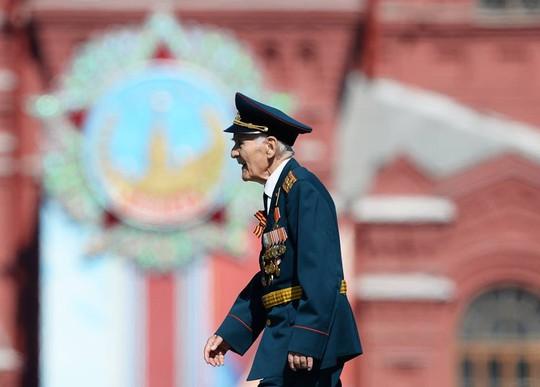 Cựu binh Nga thời thế chiến II. Ảnh: Sputnik