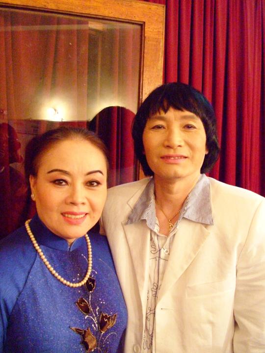 NSƯT Thanh Nguyệt và NSƯT Minh Vương