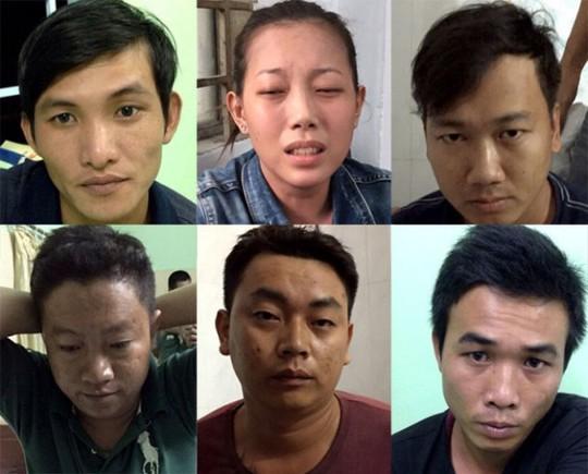 Phan Thị Ngọc Diễm cùng 5 đồng phạm