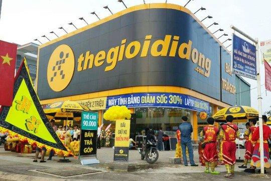 Đầu năm sau, MWG sẽ khai trưởng siêu thị thegioididong.com đầu tiên ở Campuchia. Ảnh: MWG