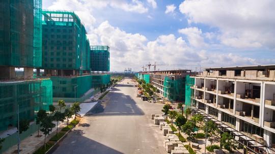 Khu đô thị Sala đang trong quá trình xây dựng