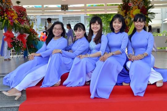 Những cô giáo trẻ của trường Võ Văn Kiệt