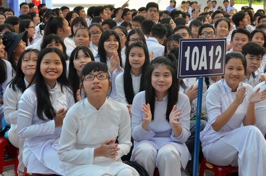 Năm học này trường THPT Võ Văn Kiệt tuyển sinh 652 học sinh lớp 10