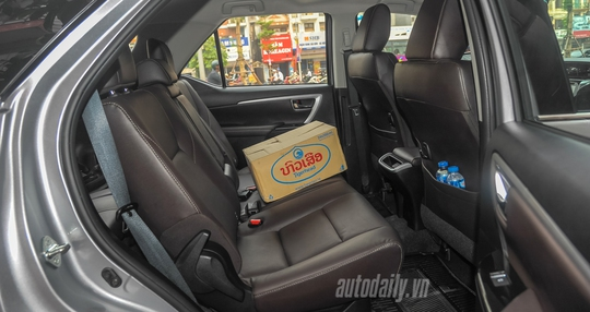 Toyota Fortuner 2016 bất ngờ xuất hiện tại Hà Nội