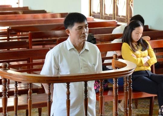 Bị cáo Hùng tại phiên tòa ngày 5-5