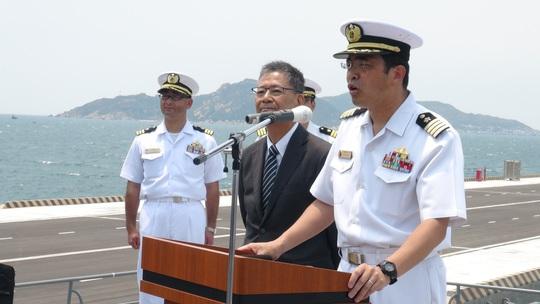 Hai chiến hạm bậc nhất của Nhật Bản cập cảng Quốc tế Cam Ranh