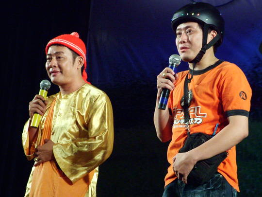 NS hài Tấn Beo và Tấn Bo