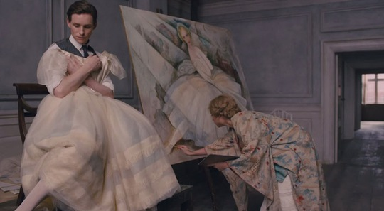 "Eddie Redmayne trong phim ""The Danish Girl"""