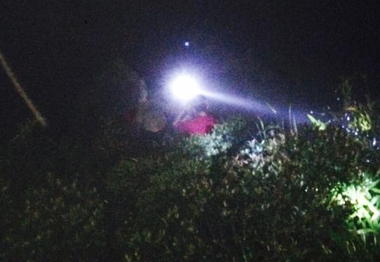 Khu vực du khách Trần Quang Đắc gặp nạn là vực sâu gần 200m