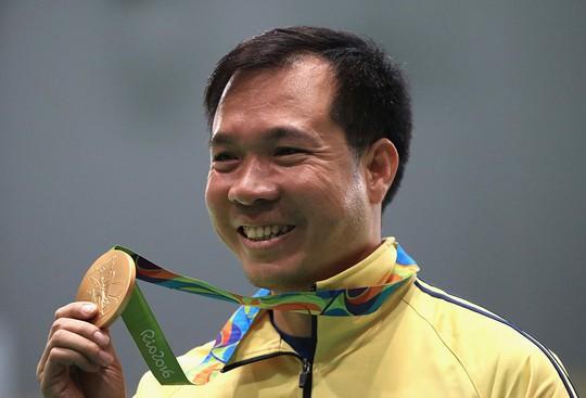 Xạ thủ Hoàng Xuân Vinh đã làm nên lịch sử của thể thao nước nhà khi lần đầu tiên đoạt HCV tại đấu trường Olympic 2016.