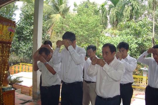 Giám đốc Sở GTVT đến chia buồn với gia đình nạn nhân