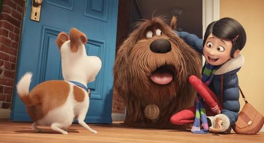 Max và Duke trong phim