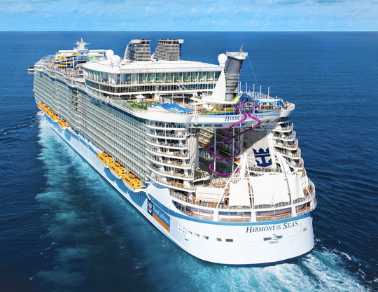 Du thuyền Harmony of the Seas. Ảnh: Royal Caribbean International