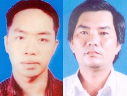Lê Trung Hiếu (trái) và Trịnh Minh Tâm