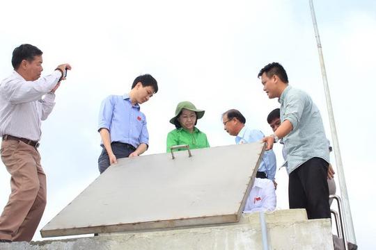 Đoàn đại biểu HĐND TP HCM giám sát tình hình sử dụng nước sạch tại huyện Củ Chi