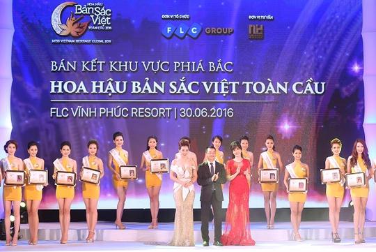 Đêm thi bán kết khu vực phía Bắc cuộc thi Hoa hậu bản sắc Việt toàn cầu