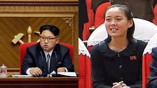 Nhà lãnh đạo Triều Tiên Kim Jong-un và em gái Kim Yo-jong. Ảnh: AAP