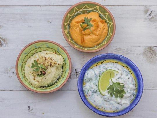 Món hummus đặc trưng của vùng Trung Đông. Ảnh: Independent
