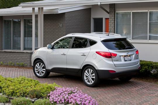 Hyundai Tucson 2012 được phát triển từ mẫu xe concept Hyundai HED-6 ix-Onic