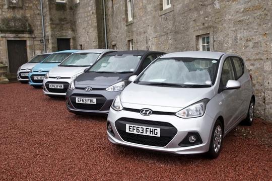 Hyundai i10 được nhập khẩu từ Ấn Độ là mẫu xe nhỏ ăn khách Hyundai Thành Công