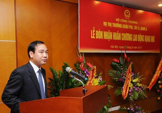 Ông Trần Quang Huy được bổ nhiệm làm Vụ trưởng Vụ Tổ chức cán bộ của Bộ Công Thương - Ảnh: Bộ Công Thương