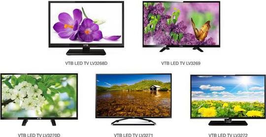 Tivi LED VTB nhỏ gọn hợp thời trang