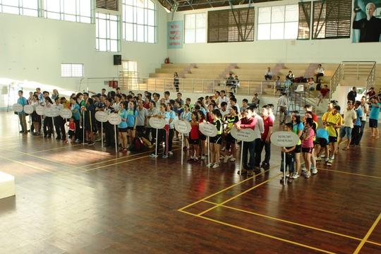 Vòng chung kết hội thao công đoàn ngành giáo dục Khánh Hòa diễn ra ở TP Nha Trang